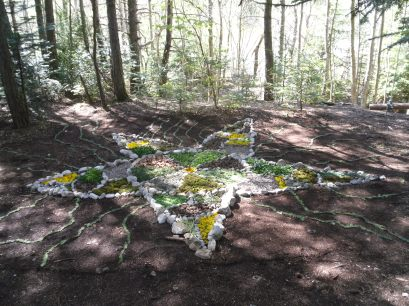 Land Art en Forêt